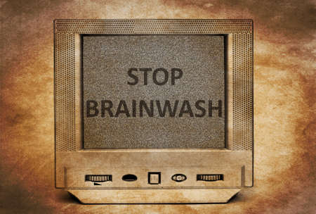 indoctrination: TV stop brainwash