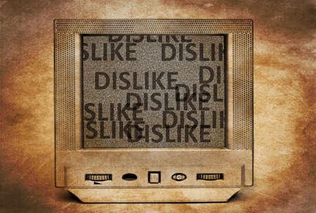 disallowed: Dislike TV