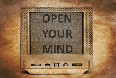receptive: Open your mind Stock Photo