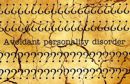 personalidad: Trastorno de la personalidad por evitaci�n