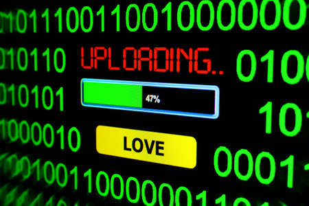 uploading: Uploading love Stock Photo