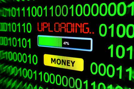 uploading: Uploading money