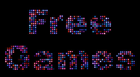 monopoly: Free games led sign