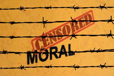 Censored moral