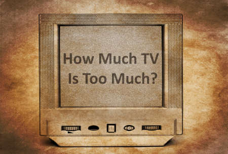 'hide out': Stop watching TV