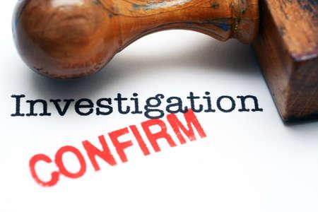 investigaci�n: Investigaci�n - confirmar