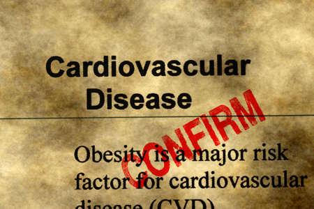 cardiovascular: Cardiovascular disease - confirm