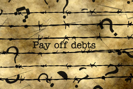 overdrawn: Pay off debts