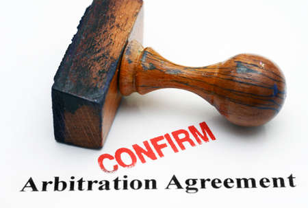 Arbitration Agreement Stock Photos  Pictures Royalty Free