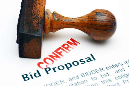 bid: Bid proposal - confirm
