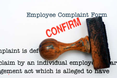 Employee complaint form photo