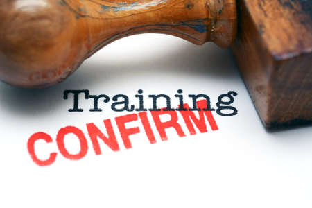personal development: Training confirm