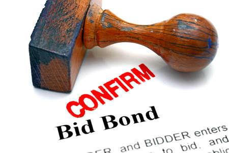 bid: Bid bond