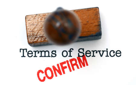 terms: Terms of service - confirm