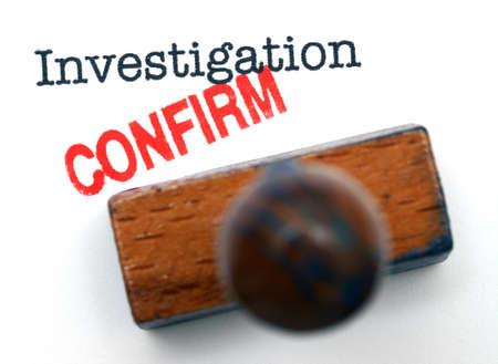 Investigation confirm