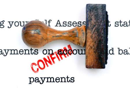 confirm: Payment form - confirm
