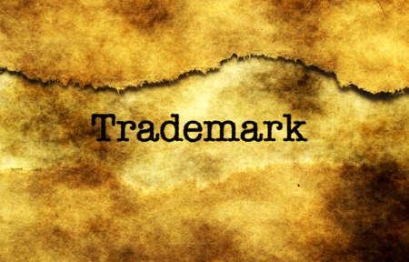 Trademark Stock Photo