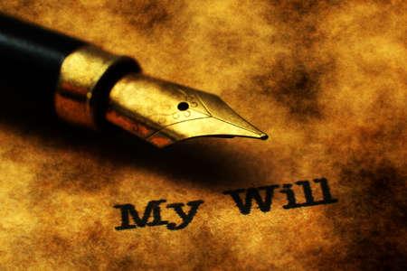 decease: My will