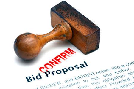 bid: Bid proposal