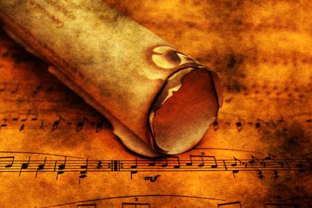 laken: Music sheet