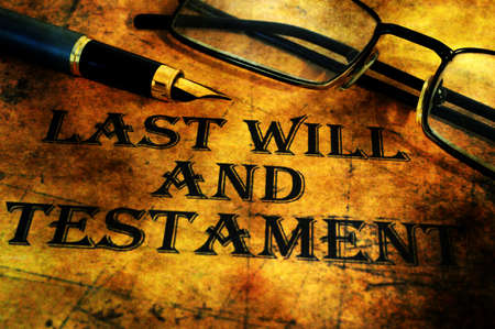 financial official: Last will and testament