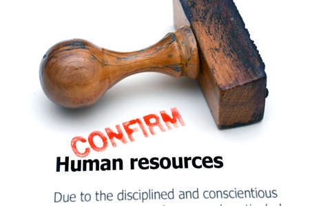 career job: Human resources Stock Photo