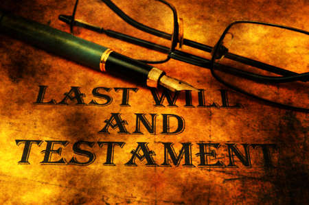 will power: Last will and testament