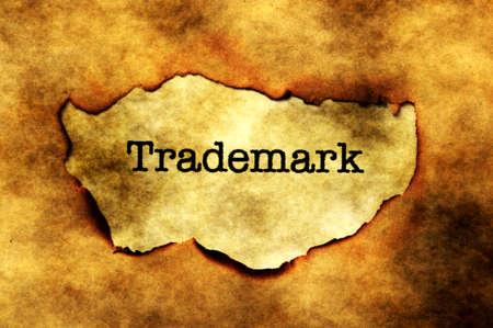 trademark: Trademark grunge  concept