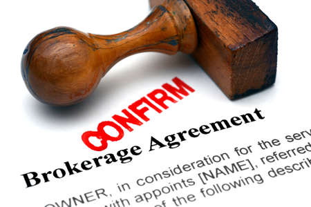 brokerage: Brokerage agreement
