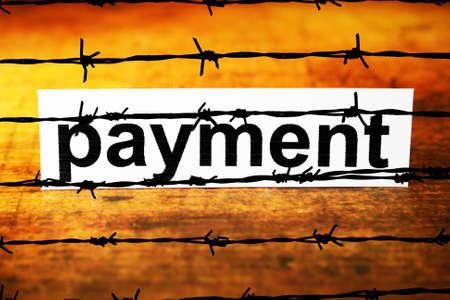 No Payment concept photo