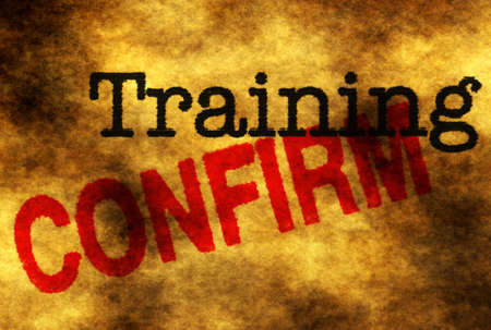 confirm: Training confirm