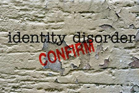 desorden: Trastorno de Identidad