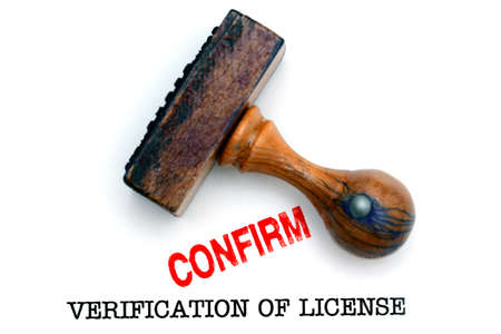 verification: Verification of license
