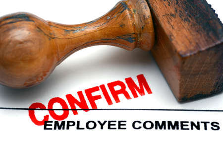 confirm: Employee comment confirm