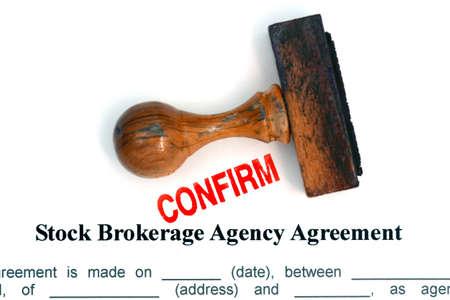 makelaardij: Stock brokerage agreement