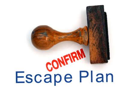 escape: Escape plan confirm