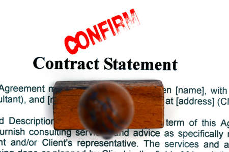 statement: Contract statement