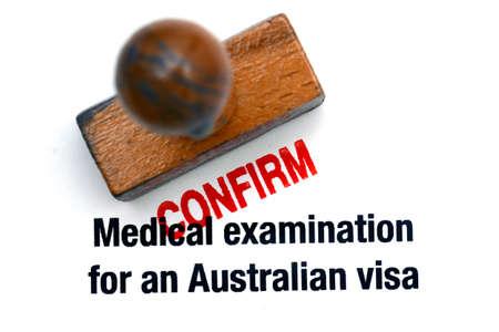 confirm: Australian visa confirm