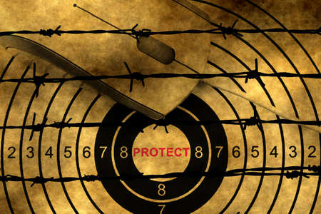 barbwire: Web protect target against barbwire