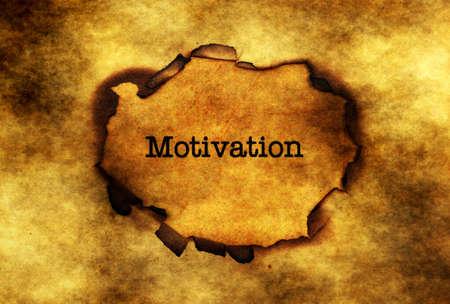 paper hole: Motivation concept on paper hole Stock Photo