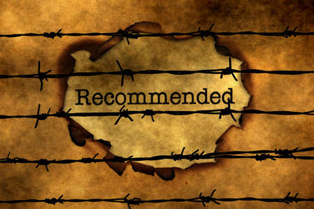 recommended: Recommended concept against barbwire