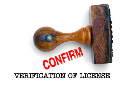 verification: Verification of license