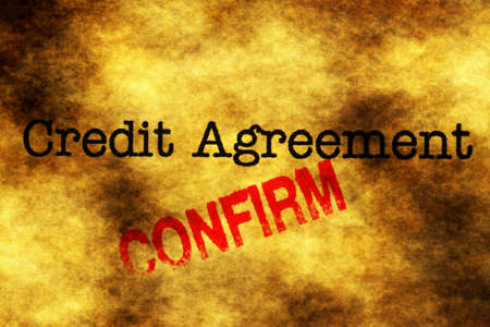 confirm: Credit agreement confirm