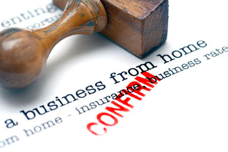 ownership and control: Running a business from home