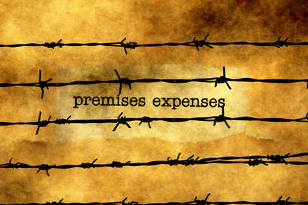 barbwire: Premises expenses against barbwire