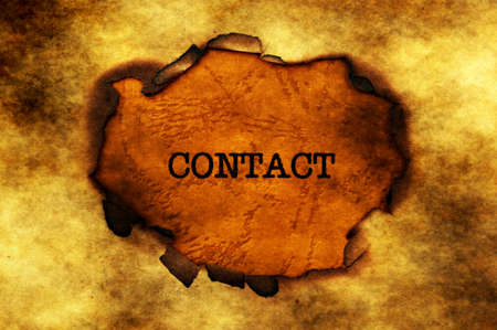 paper hole: Contact text on paper hole