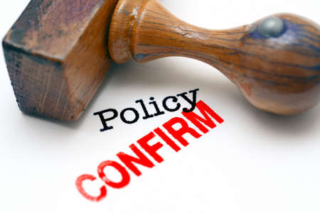 confirm: Policy confirm