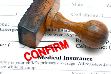 confirm confirmation: medical insurance confirm