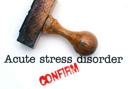 insomniac: Acute stress disorder