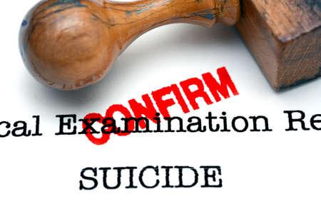 confirm: Suicide confirm